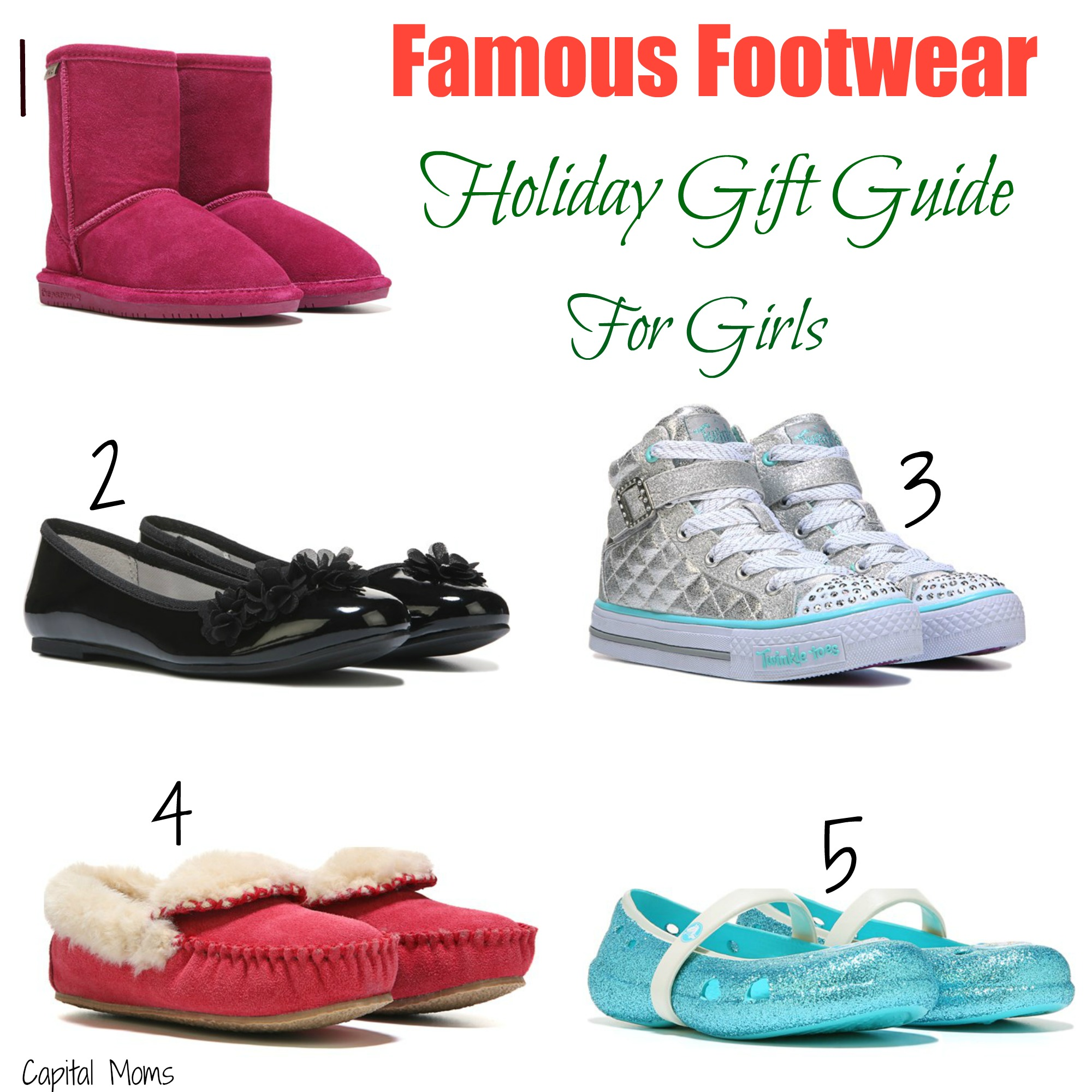 Holiday Guide to Girls' Fashion at Famous Footwear