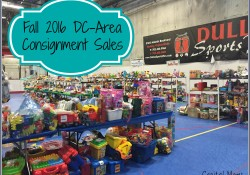 Fall 2016 DC-Area Consignment Sales