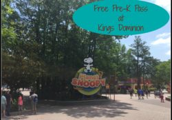 Free 2018 Pre-K Pass at Kings Dominion