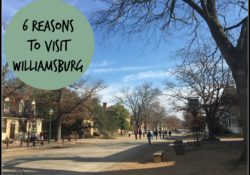6 Reasons to Visit Williamsburg, Virginia This Fall