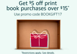 Amazon: $5 off a $15 Book Purchase